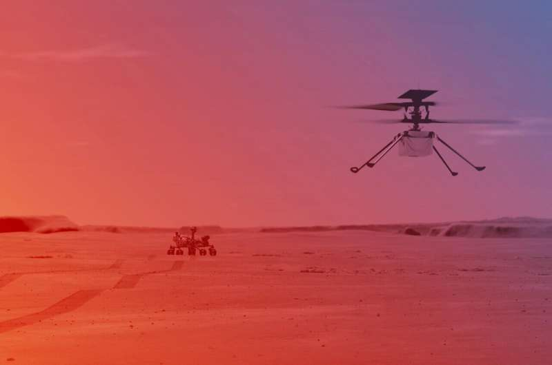 NASA Ingenuity Mars Helicopter Prepares for First Flight