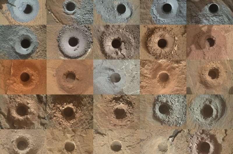 NASA's Curiosity Mars Rover Explores a Changing Landscape