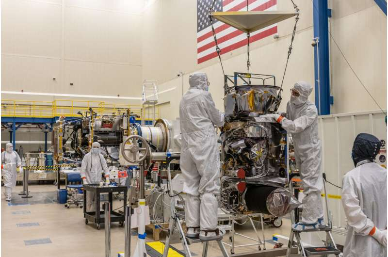 NASA's Lucy in the cleanroom