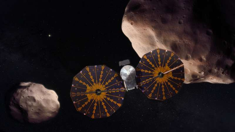 NASA's Lucy mission: a journey to the young solar system
