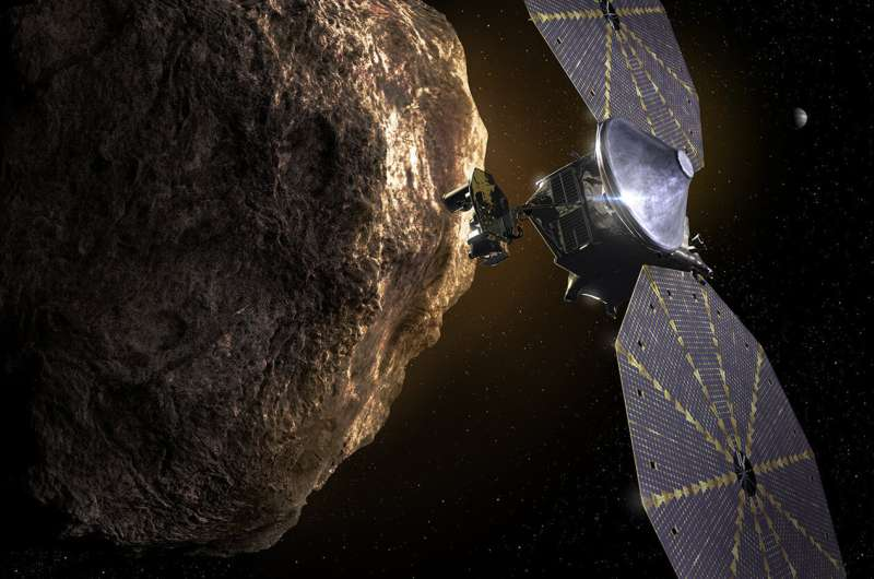 NASA's Lucy spacecraft poised to launch Oct. 16
