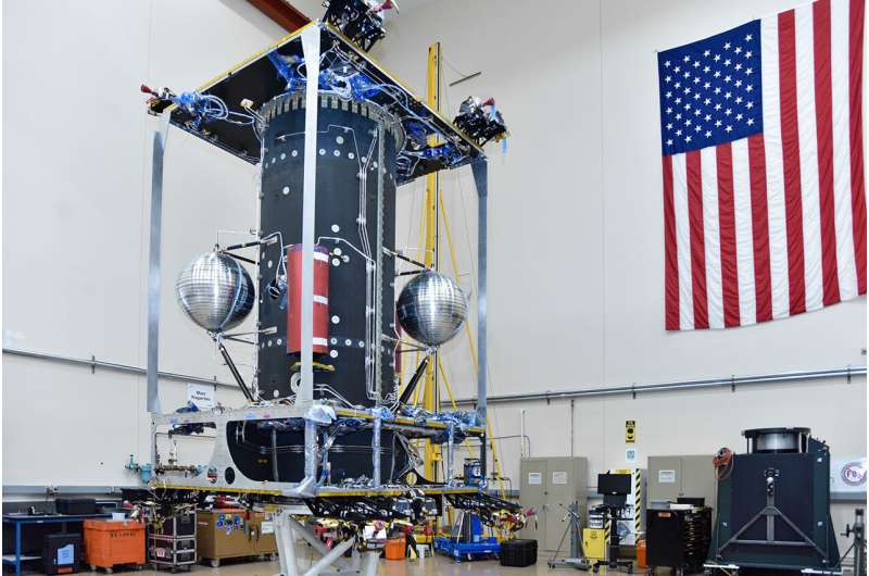 NASA's On-orbit Servicing, Assembly, and Manufacturing 1 (OSAM-1) mission ready for spacecraft build
