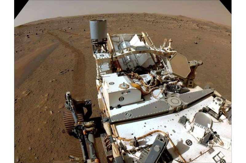 NASA's Perseverance rover cameras capture mars like never before