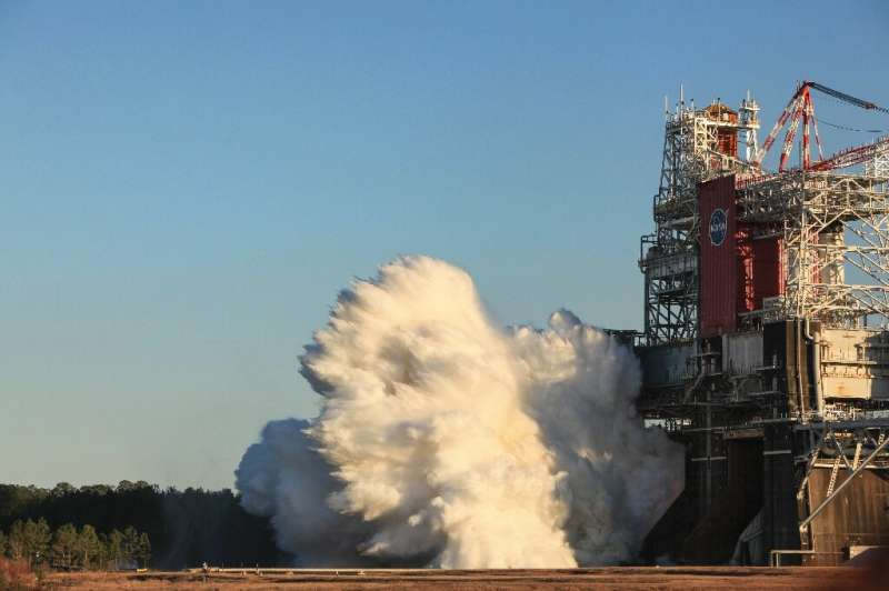 NASA said the 'hot-fire' test of the RS-25 engines that will power the Artemis lunar missions shut down prematurely
