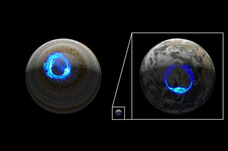 NASA's Juno reveals dark origins of one of Jupiter's grand light shows