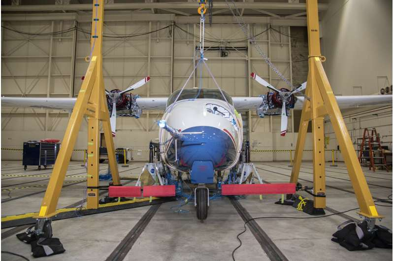 NASA to begin high-voltage ground testing on all-electric X-57
