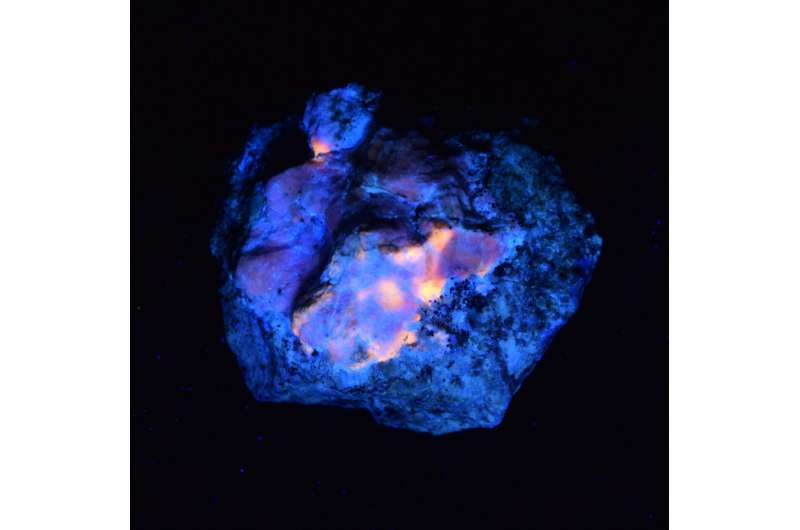 Natural Mineral Hackmanite Enables New Method of X-Ray Imaging