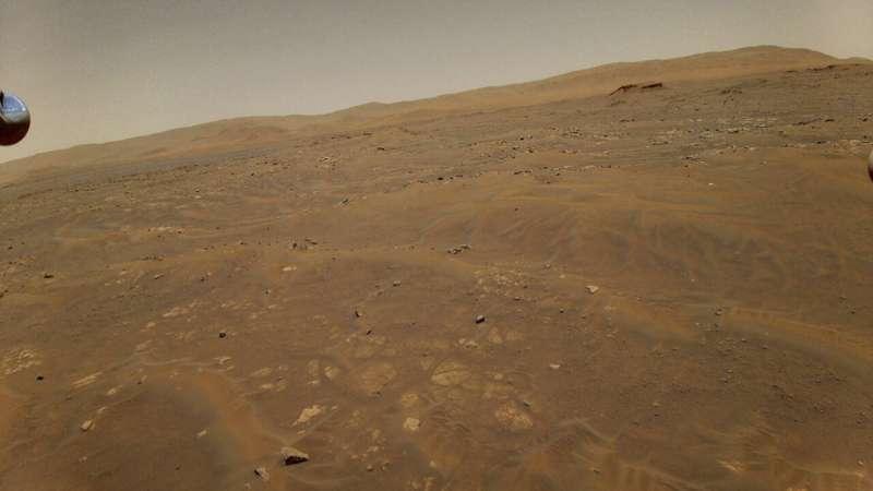 Navigation error sends NASA's Mars helicopter on wild ride