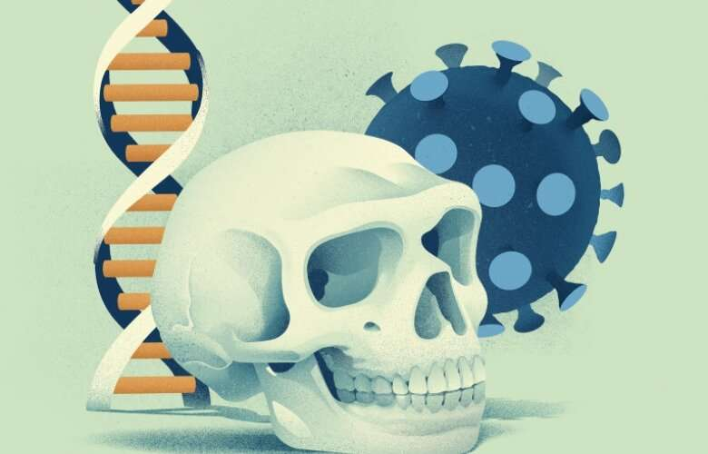 Neandertal gene variants both increase and decrease the risk for severe COVID-19