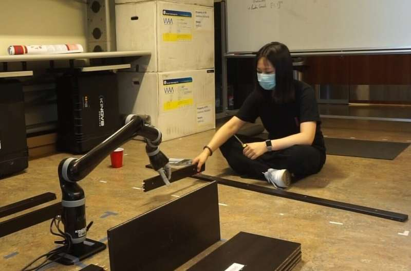Need help building IKEA furniture? This robot can lend a hand