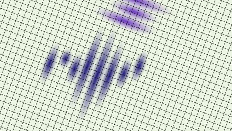Nematic transition and nanoscale suppression of superconductivity in an iron chalcogenide