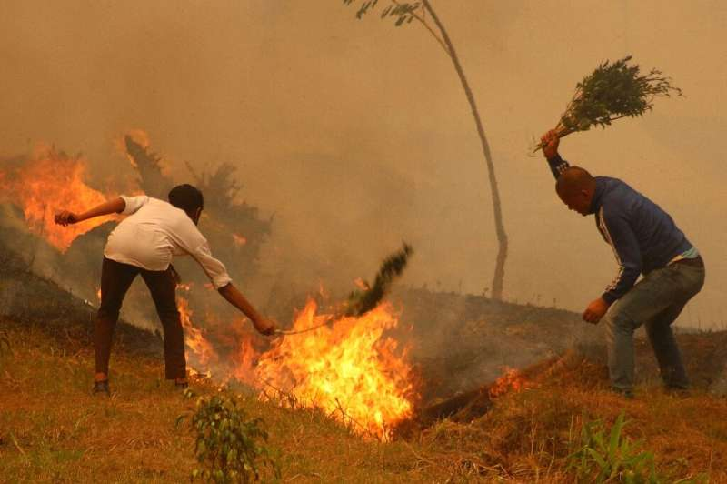 Nepal is experiencing its worst fire season in almost a decade, officials say