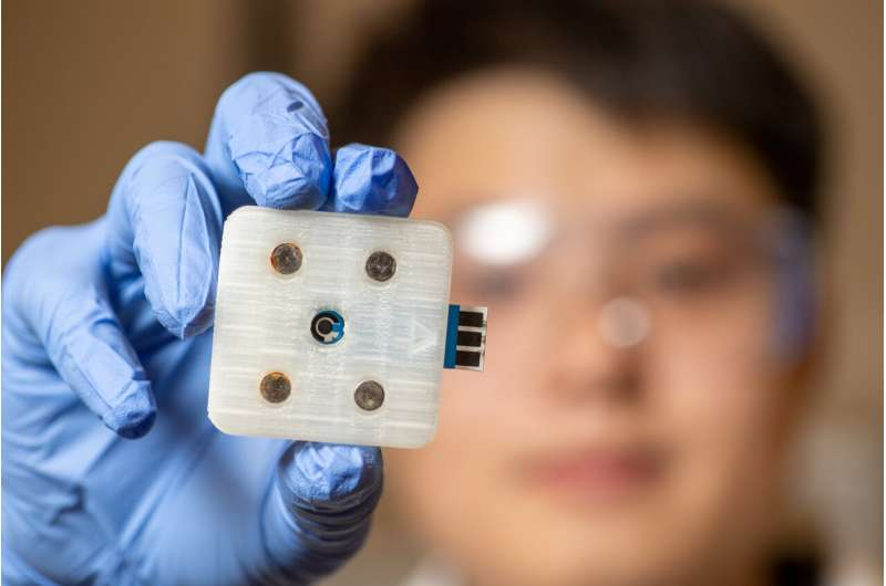 New 3D-printed sensor can detect glyphosate in beverages