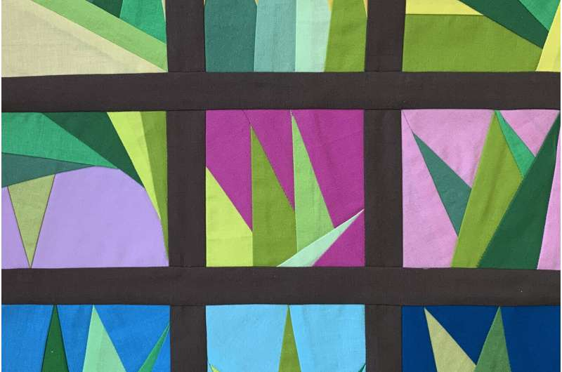 New algorithm for modern quilting