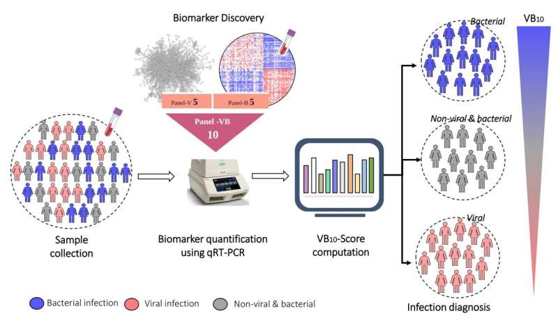 New blood-based biomarker to distinguish between bacterial and viral infections
