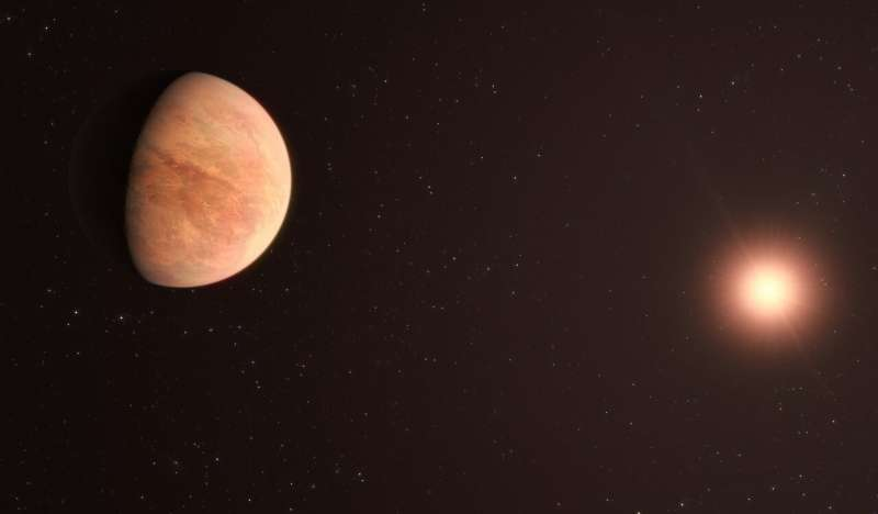 New ESO observations show rocky exoplanet has just half the mass of Venus