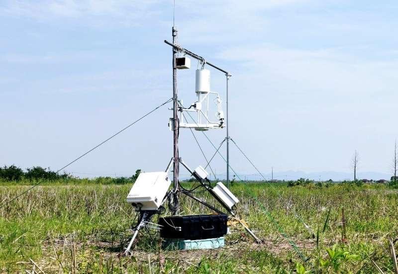 New instrument to measure atmospheric ammonia
