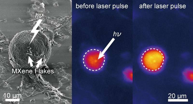 New material aids in neural stimulation using light