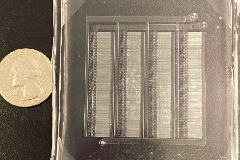 New microfluidic device delivers mRNA nanoparticles a hundred times faster