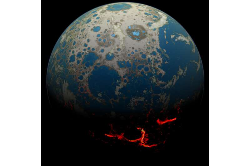 New research uncovers continental crust emerged 500 million years earlier than thought