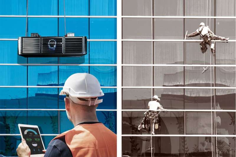 New robot aims to make high-rise window and façade services faster and safer