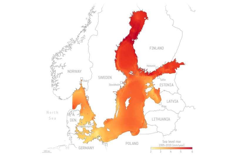 New satellite data techniques reveal coastal sea-level rise