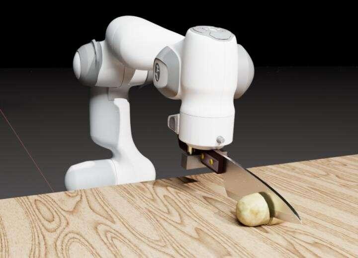 New simulator helps robots sharpen their cutting skills