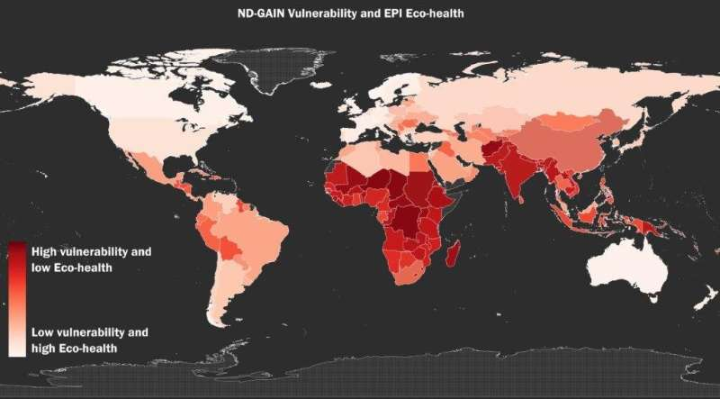 New study confirms relationship between toxic pollution, climate risks to human health
