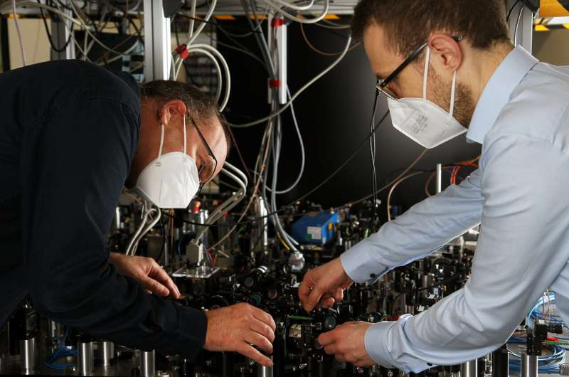 New study: Physicists identify energy states of individual atoms following a collision
