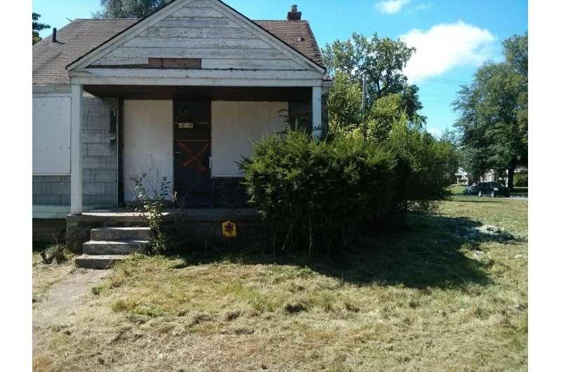 New study shows rundown neighborhoods not slated to go into a steep decline