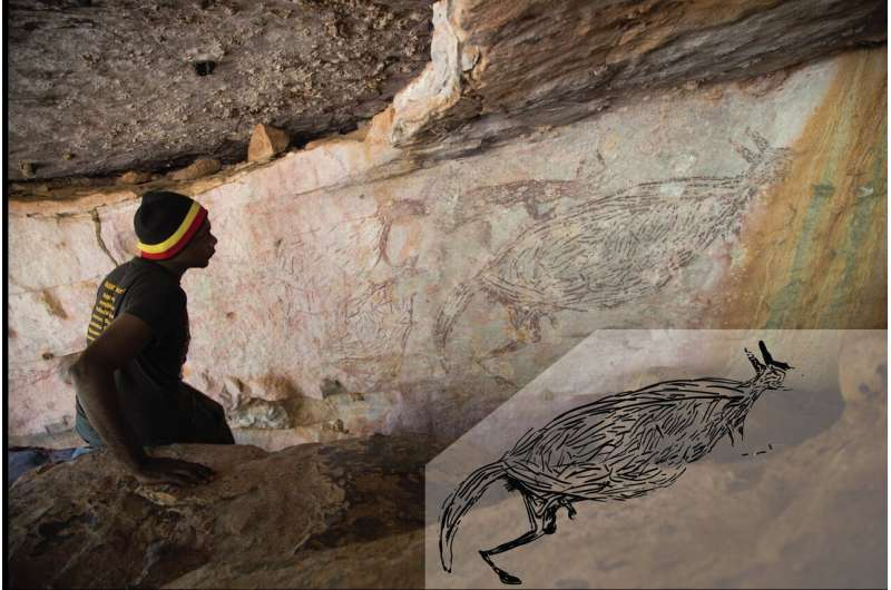 New dating techniques reveal Australia's oldest known rock painting, and it's a kangaroo