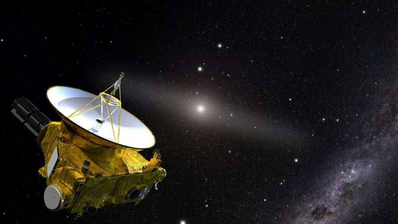 NEW HORIZONS SPACECRAFT ANSWERS QUESTION: HOW DARK IS SPACE?