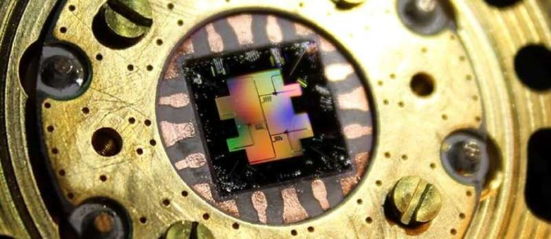 New physics rules tested on quantum computer