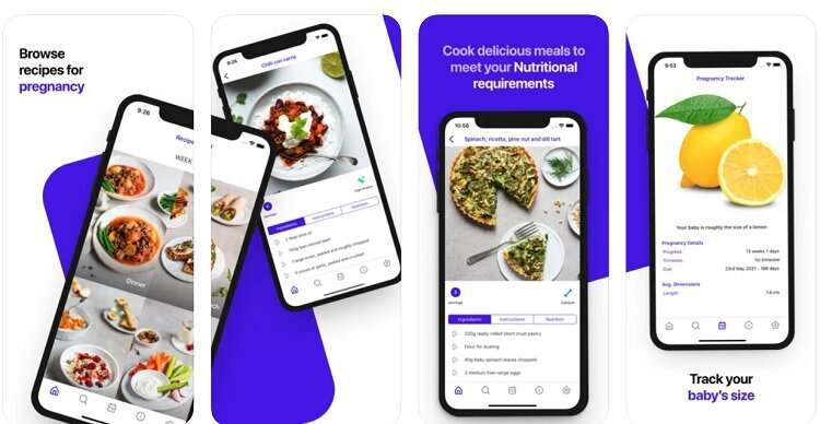 New pregnancy healthy eating app backed by clinical research