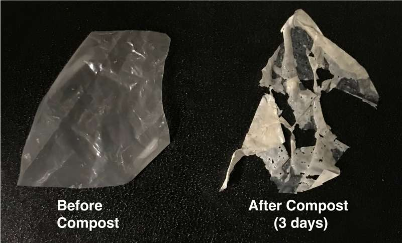 New process makes 'biodegradable' plastics truly compostable