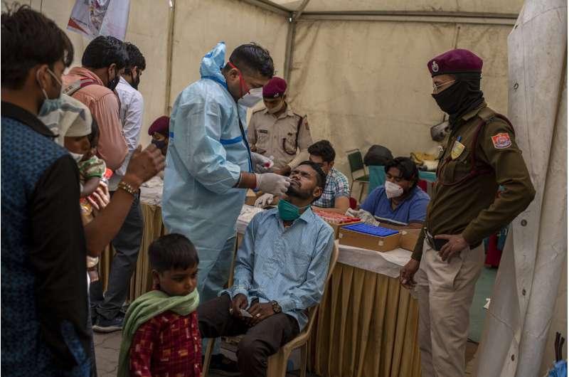 New virus variant detected in India; experts urge caution