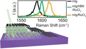 New way to control electrical charge in 2-D materials: Put a flake onit