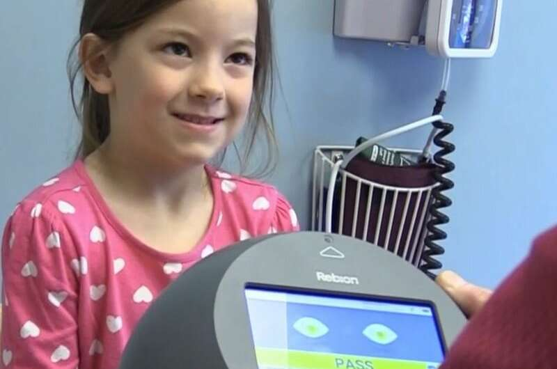 NIH-funded study shows screening device accurately detects amblyopia (lazy eye)