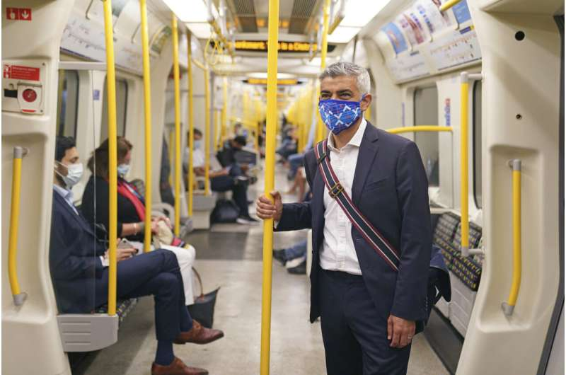 No change here: London to retain masks on public transport