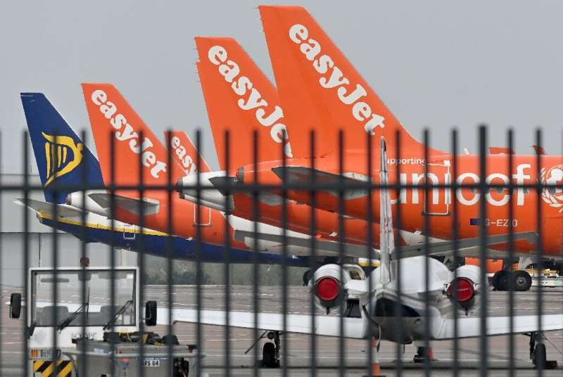 No-frills airlines, such as Ryanair and EasyJet, are notably affected, with their business model based heavily on flying custome