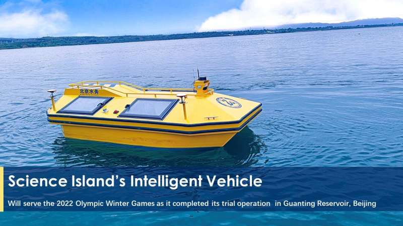 Novel intelligent vehicles to monitor water source safety for 2022 Olympic Winter Games