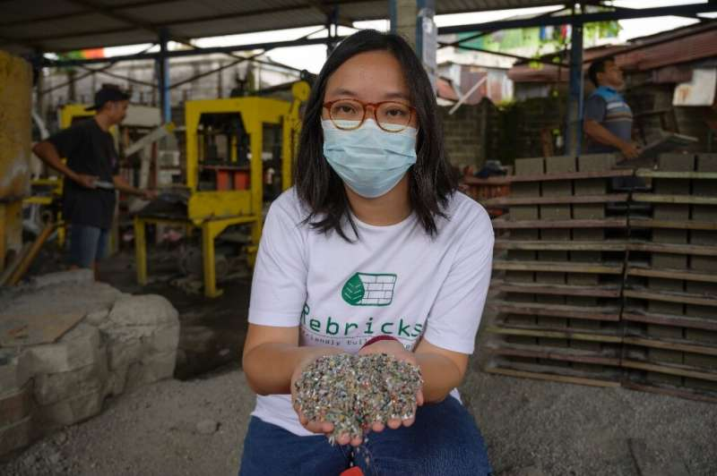 Novita Tan launched recycling company Rebrick after Indonesia drew headlines as the second-biggest producer of marine waste in t