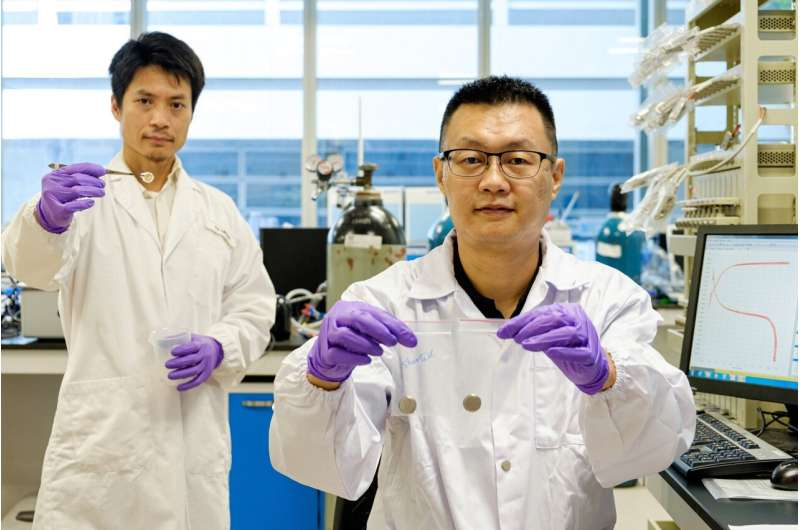NTU Singapore scientists invent technology that can prevent Li-ion battery fires