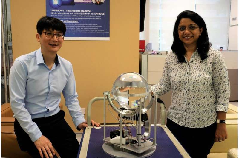 NTU Singapore scientists design 'smart' device to harvest daylight