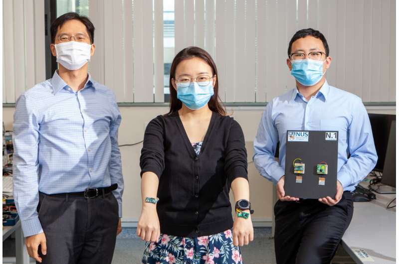 NUS engineers devise novel approach to wirelessly power wearable devices