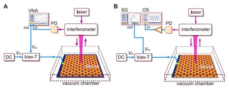 Observing chiral edge states in gapped nanomechanical graphene