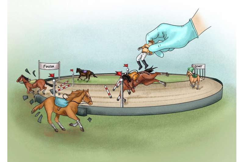 Obstacles on the racetrack of life