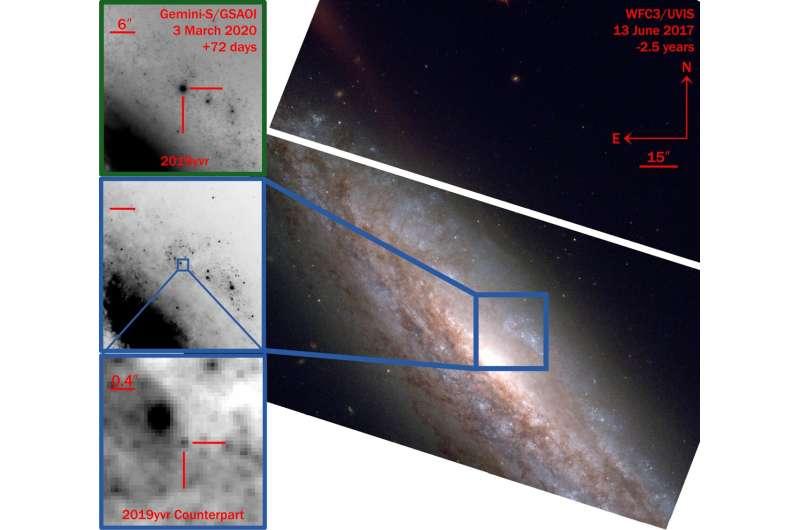 'Oddball supernova' appears strangely cool before exploding