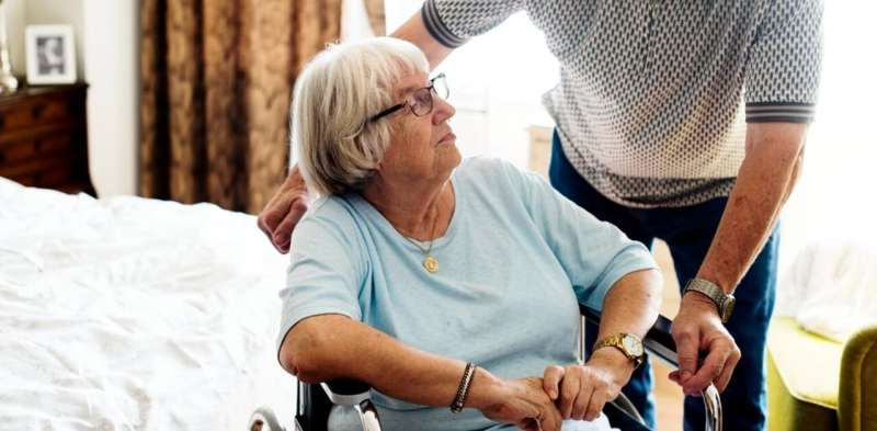 Older caregivers struggling with extra burdens of home care during COVID-19