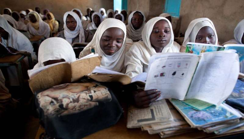 One million African girls 'may never return to school'